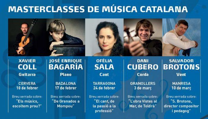 Masterclasses de música catalana