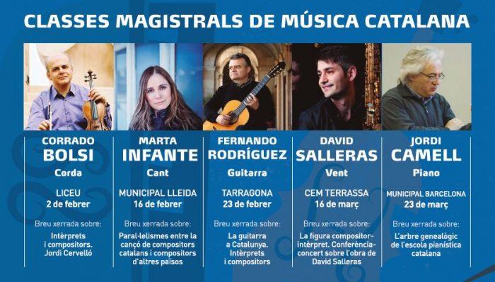 Clases Magistrales de Música Catalana